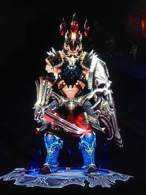 Diablo 3 Barbarian Xbox 360