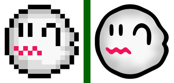 Boo - Super Mario Brothers