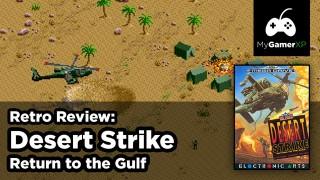 Desert Strike Review for Sega Genesis and Mega Drive