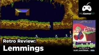 Lemmings Review for Sega Genesis and Mega Drive