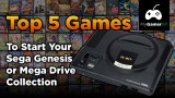 Top 5 games to start your sega genesis and mega drive collection