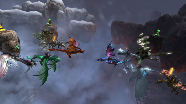 5v5 dragons and titans