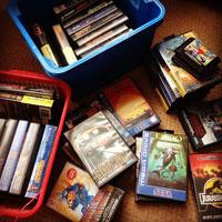 Retro Video Game Collection