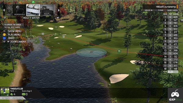 The golf club screenshot 03