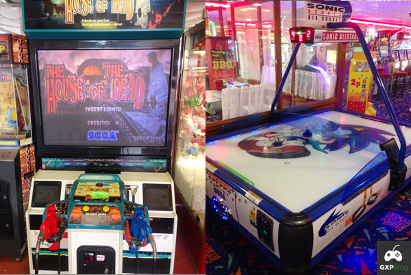 House of the Dead and Sonic Arcade