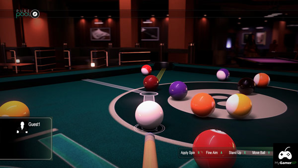 Pure Pool Xbox One Screenshot 01