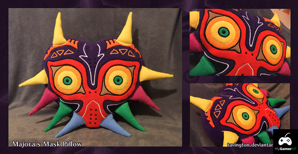 Majoras Mask Pillow