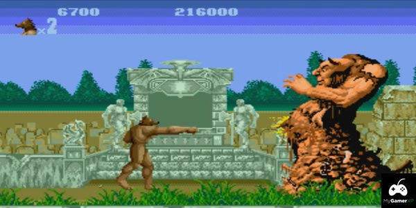 Altered Beast Review SEGA