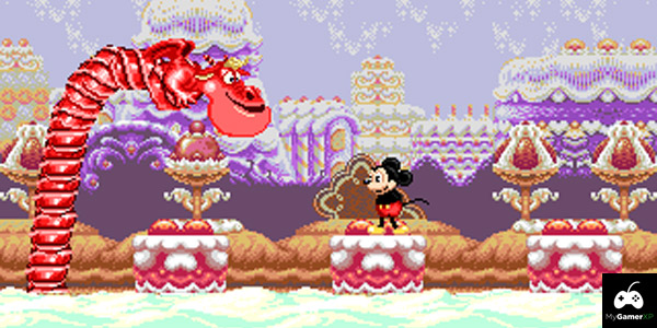 Castle of Illusion Sega Screenshot 1