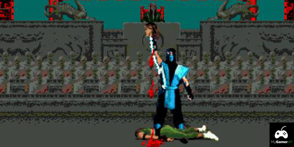 Mortal Kombat Sega Review Screenshot 2