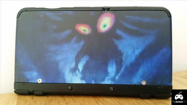 New Nintendo 3DS Majora's Mask Cover Plate 1