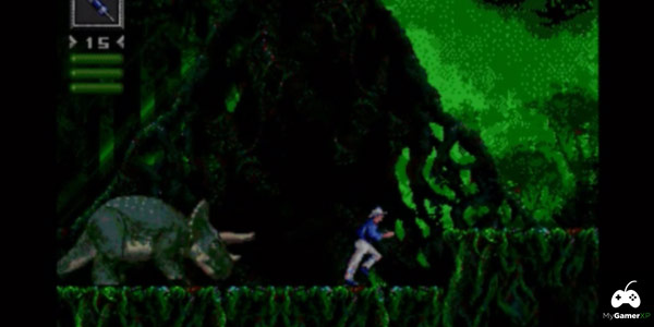 Jurassic Park Sega Screenshot 02