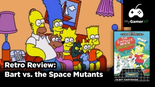 Bart vs. the Space Mutants Review (Sega Genesis/Mega Drive)