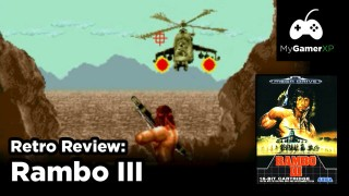Rambo 3 Review for Sega Genesis and Mega Drive