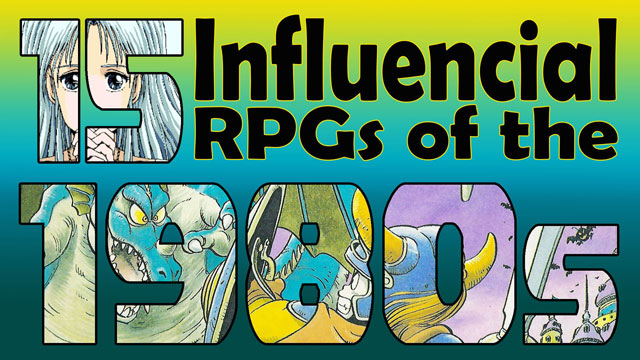 The 15 Most Influential RPGs of the 1980s