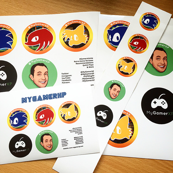 mygamerxp stickers photo
