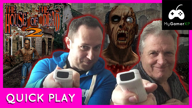House of the Dead 2 Quick Play with Dad